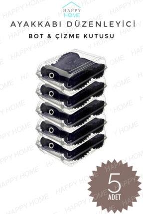 5 Adet Çizme - Bot Kutusu Ayakkabı Düzenleyici Kutu /cnbe54 cntb245