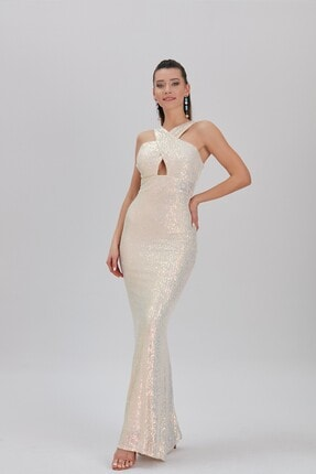 Payet Elbise 54302 Altın MSA0519Y543020001