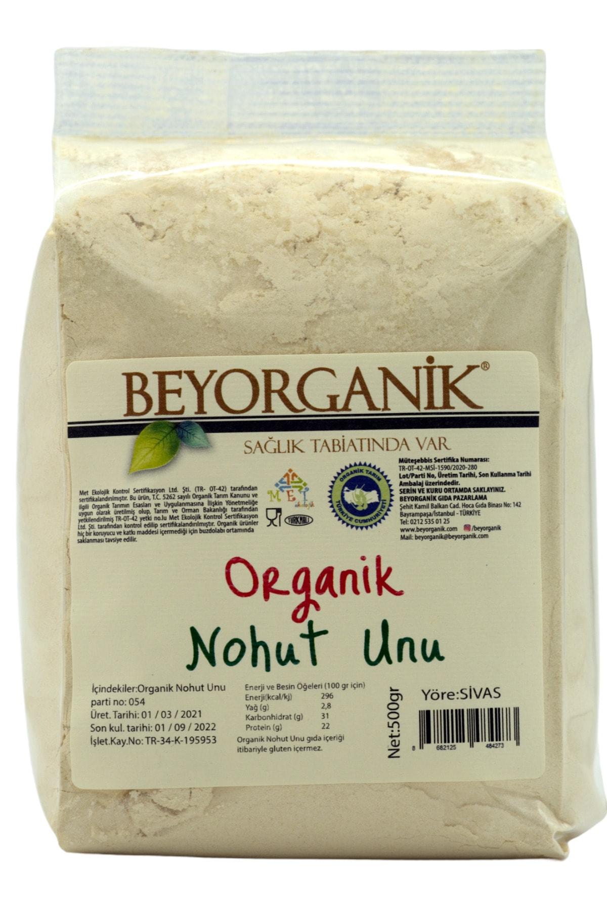 Organik Nohut Unu 500 gr