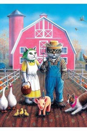 Art Puzzle Kedi Çiftliği 260 Parça Puzzle 1