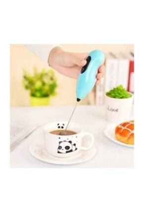 Axentia Mini Mikser Kahve Süt Köpürtücü Karıştırıcı Cappucino Mixer Pilli Çırpıcı 0