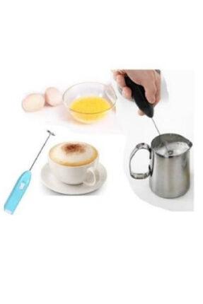 Axentia Mini Mikser Kahve Süt Köpürtücü Karıştırıcı Cappucino Mixer Pilli Çırpıcı 2