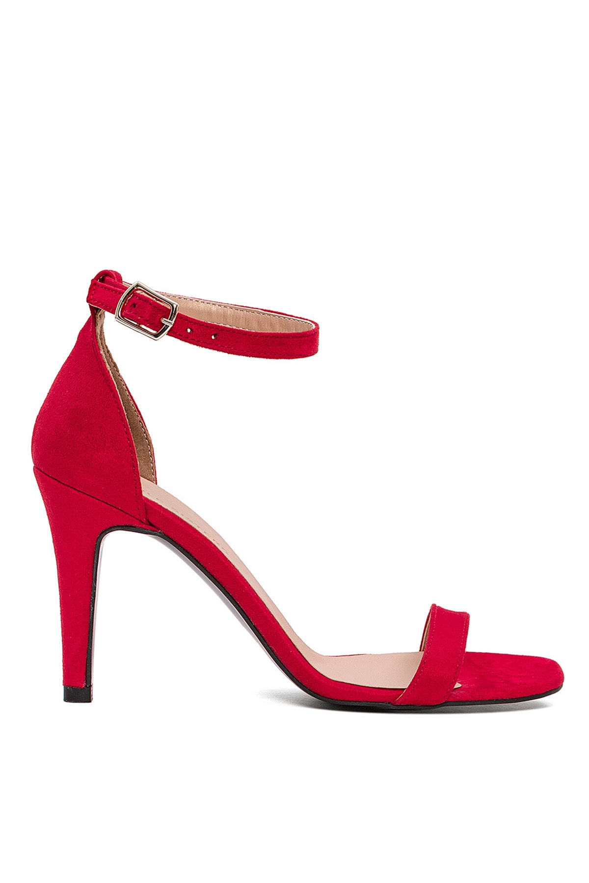 Sole Sisters Kadın Kırmızı Topuklu Sandalet