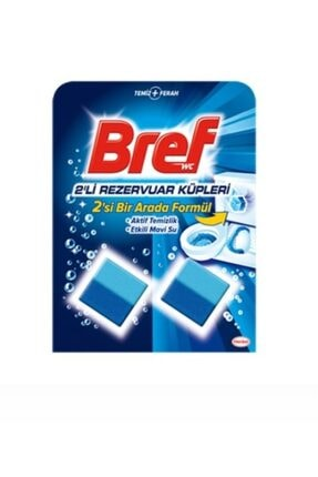Bref Rezervuar Küp Aktif Temizlik 2'li 10 Adet 1