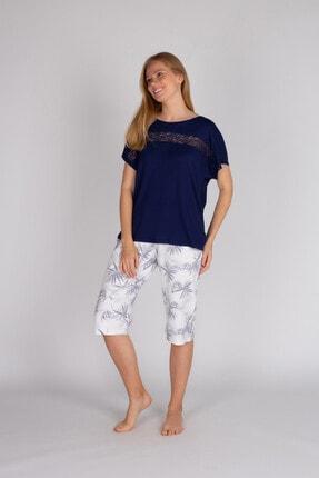 Kadın Lacivert Pijama Takımı 60351-B72-S412-412