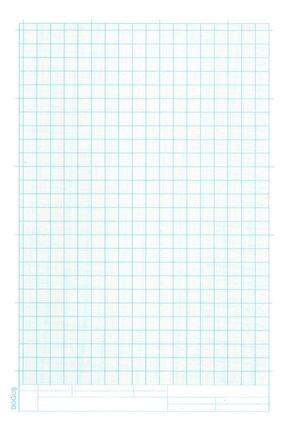 FİYPER A4 Milimetrik Teknik Resim Kağıdı 30lu Poşet - Mavi 0
