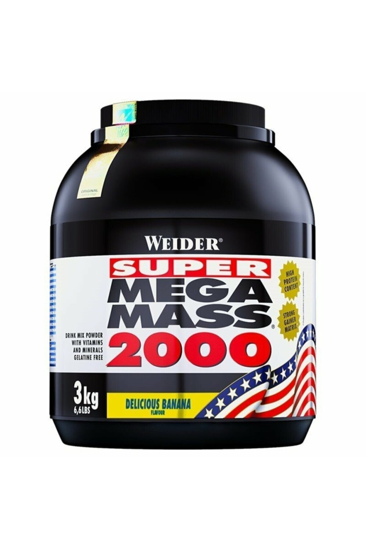 Mega Mass 2000 3000 Gr - Muz