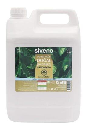 Siveno Defne Yağlı Doğal Sıvı Sabun 5 Lt 0