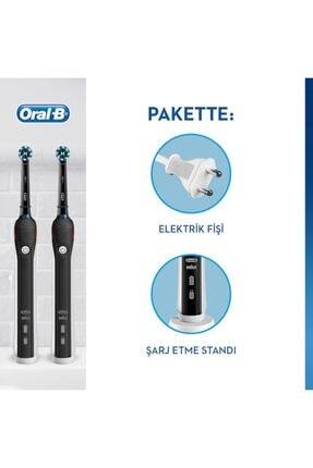 Oral-B Pro 2900 Siyah 2'li Avantaj Paket Diş Fırçası Black + Siyah Yedek Başlık 2'li 4