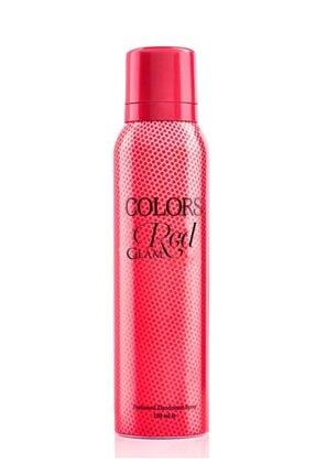 Rebul Colors Red Bayan Deodorant 150 Ml 0