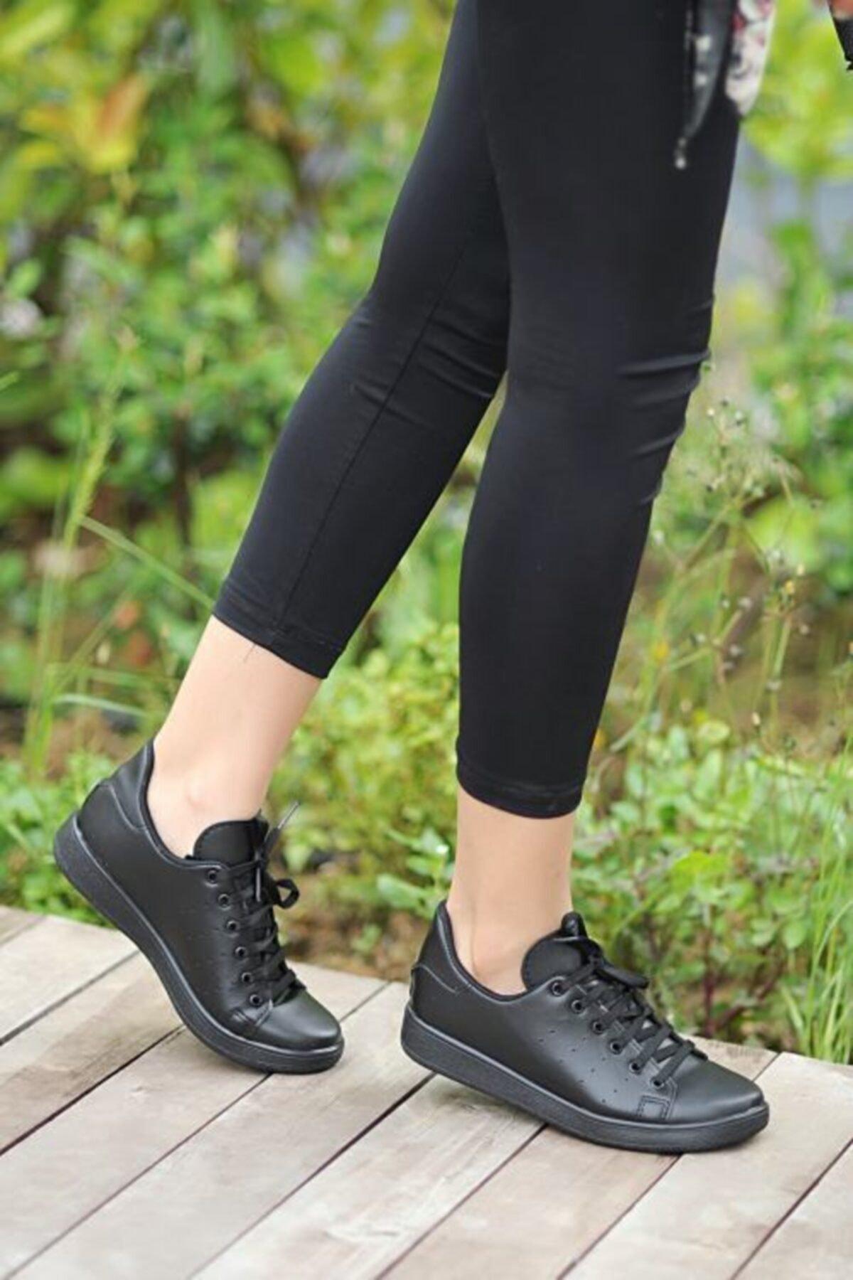 Pembe Potin Kadın Sneaker Ayakkabı