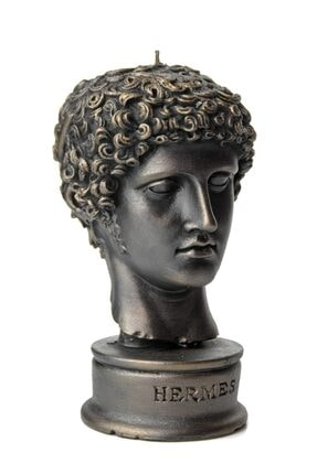 vawa Siyah Hermes Dekoratif Büst Mum 0