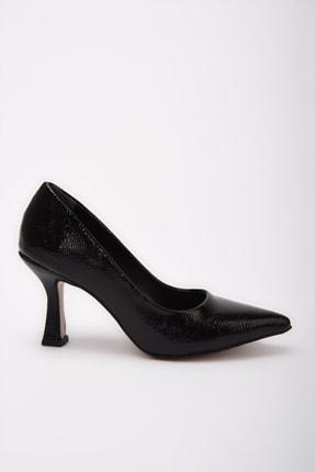 Yaya by Hotiç Siyah  Klasik Topuklu Ayakkabı 01AYY197670A100 0