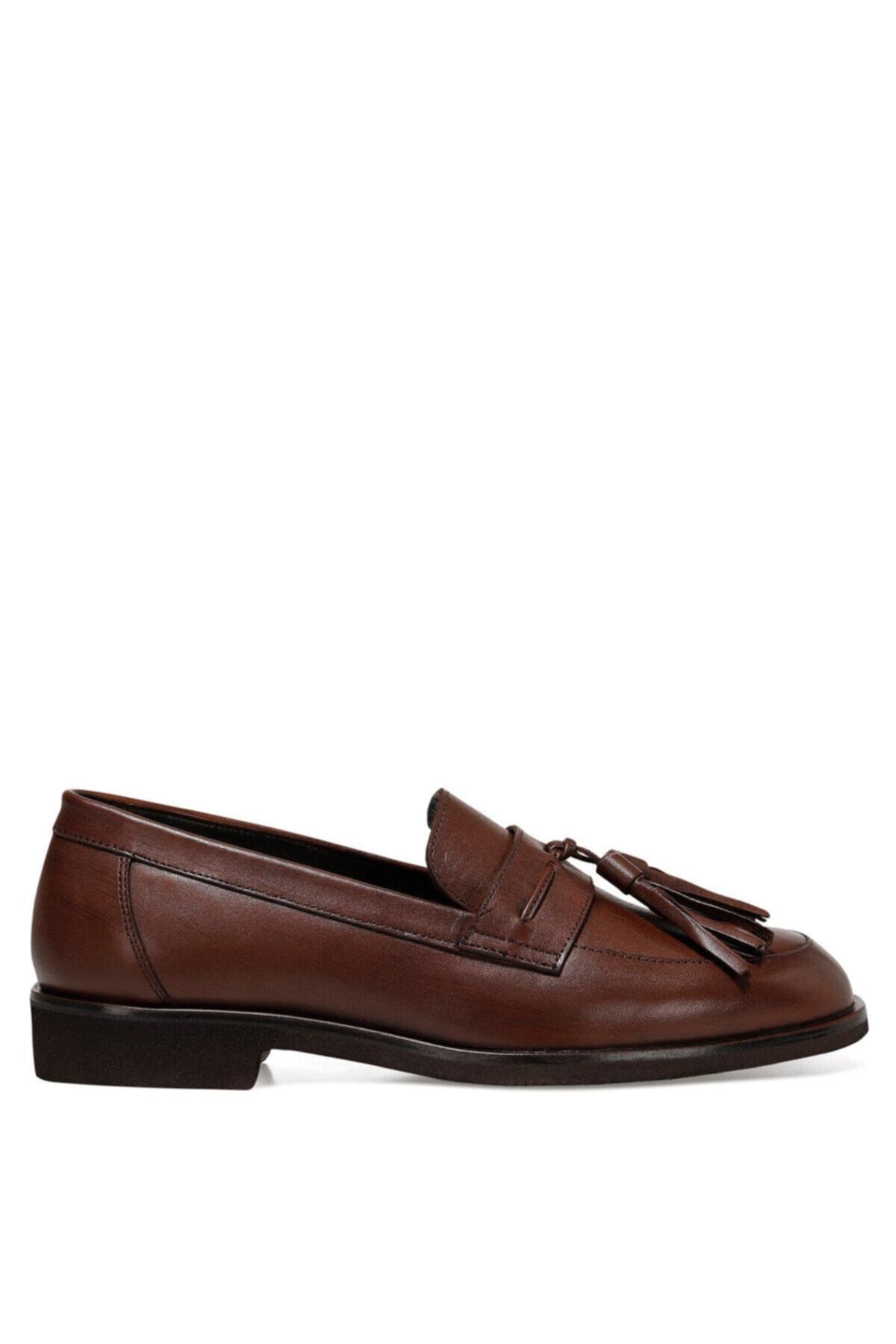 Nine West Bambola2 Koyu Kahve Kadın Loafer Ayakkabı