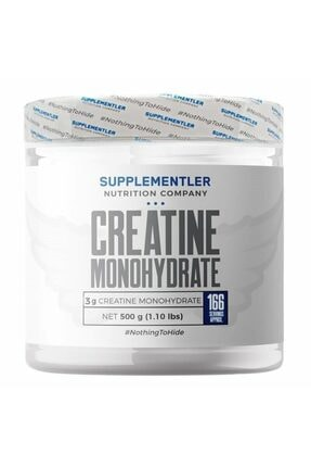 Supplementler .com Micronized Creatine 500 Gr 0