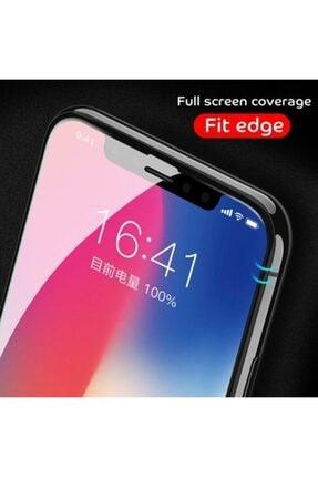 GALIO Iphone 7 Siyah Full Seramik Ekran Koruyucu 4