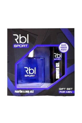Rebul Set Sport Edt 90 Ml + Duş Jeli 200 Ml Erkek 0