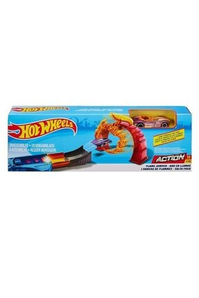 HOT WHEELS Akrobasi Atlayış Pist Seti Fth81 - Flame Jumper 0