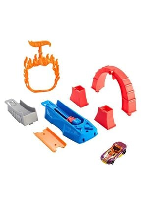 HOT WHEELS Akrobasi Atlayış Pist Seti Fth81 - Flame Jumper 2