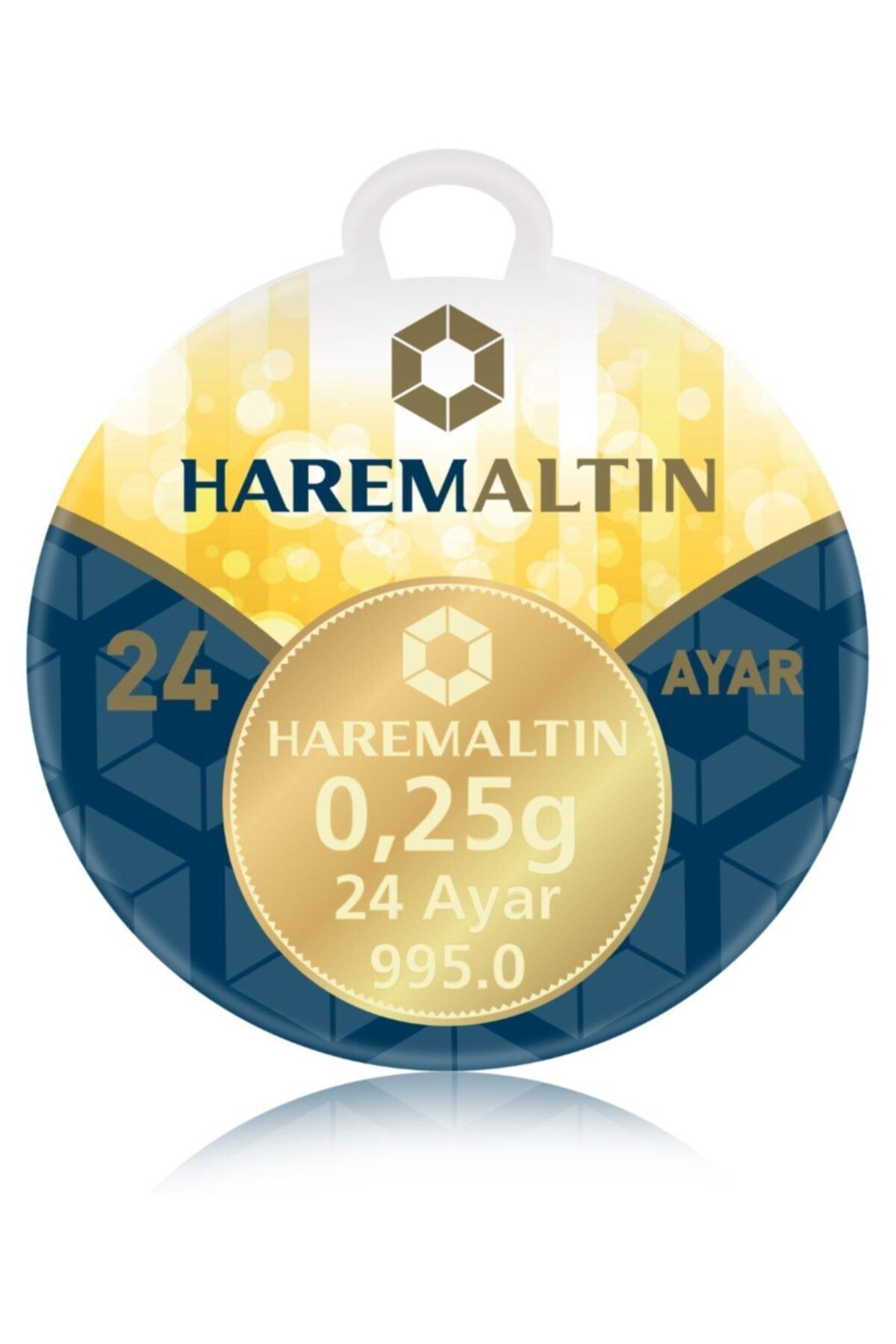 0.25 gr 24 Ayar Harem Külçe Altın