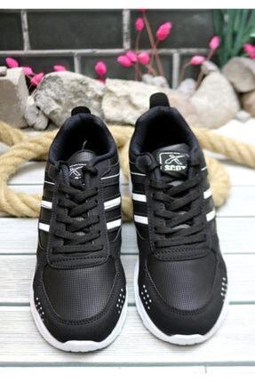 Trendway Unisex Siyah Spor Ayakkabı 1