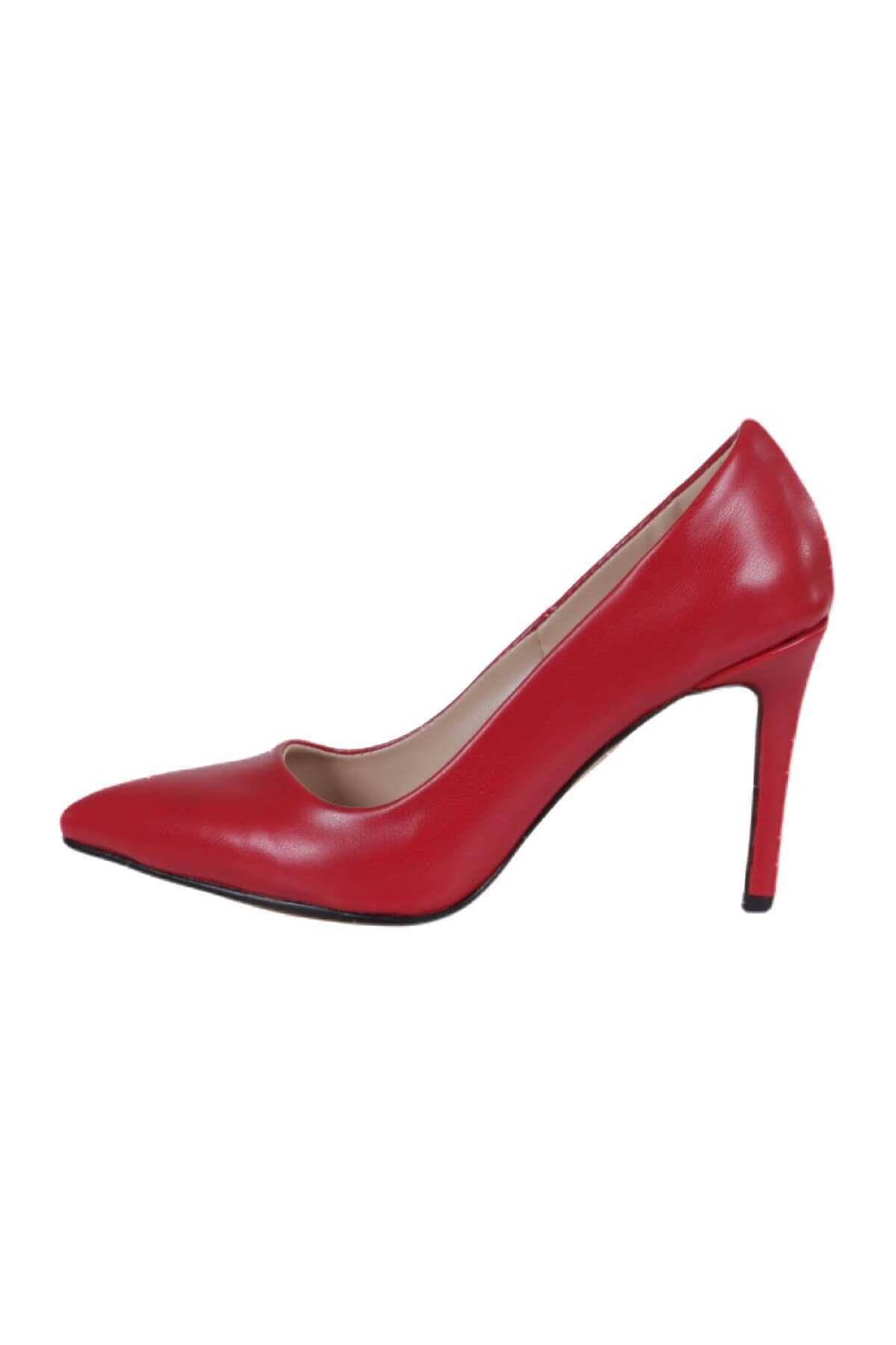 Mio Gusto Basic Kırmızı Stiletto 4