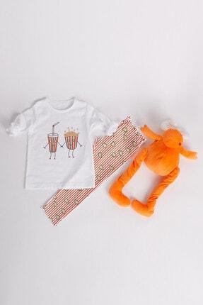 Kız Çocuk Pembe Pijama Takımı 60467-K71-K412-233