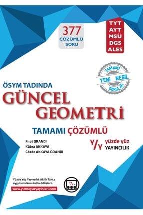 Yüzde Yüz Yayınları Güncel Geometri Ösym Tadında Tamamı Çözümlü Yüzdeyüz Yayınları 0