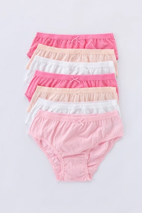 Penti Çok Renkli Teen Pinky 7Li Slip Külot 0