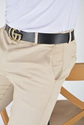 Terapi Men Erkek Krem Slim Fit Keten Pantolon 3