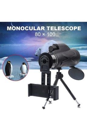 Triline 80x Dürbün Zoom Tek Göz Monoküler Hd El Teleskobu 3