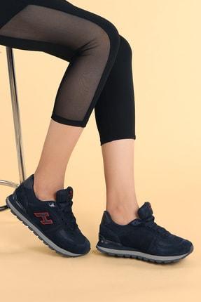 Hammer Jack Kadın Lacivert Kırmızı Spor Ayakkabı 1