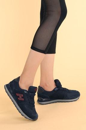 Hammer Jack Kadın Lacivert Kırmızı Spor Ayakkabı 2