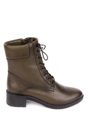 Bellacomfort Shoes Kadın Haki Yeşil Bot-n1000 2