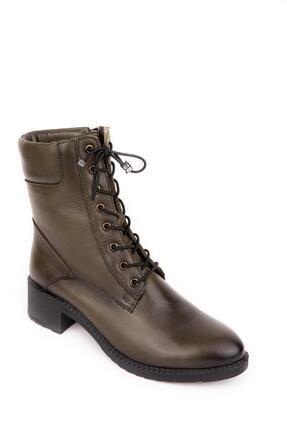 Bellacomfort Shoes Kadın Haki Yeşil Bot-n1000 3