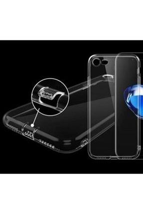 Zengin Çarşım Apple İphone 7-8 - SE 2020 Toz Koruma Tıpalı Ultra İnce Şeffaf Silikon Kılıf 2
