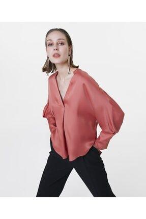 İpekyol Kadın Terracotta Over Size Bluz IS1200006122204 2