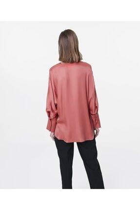 İpekyol Kadın Terracotta Over Size Bluz IS1200006122204 3
