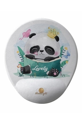 GameBoss Happy Panda Bilek Destekli Tasarım Mouse Pad 0