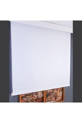 Anıper Beyaz Düz Stor Perde Tmnp-1001 110x260 cm 1