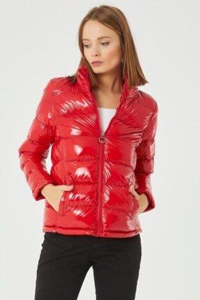 Lenasso Kadın Kırmızı Şişme Mont 0