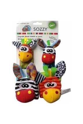Sozzy Toys Çıngıraklı Çorap Ve Bileklik Seti Szy101 0