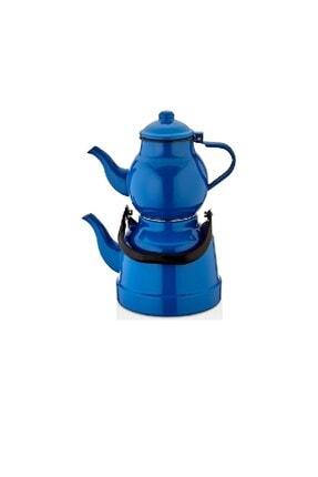 Hitfoni Emaye Çaydanlık Demlik Takımı Sağlıklı Emaye Çaydanlık Takımı - 1,7 Lt 0,7 Lt 0