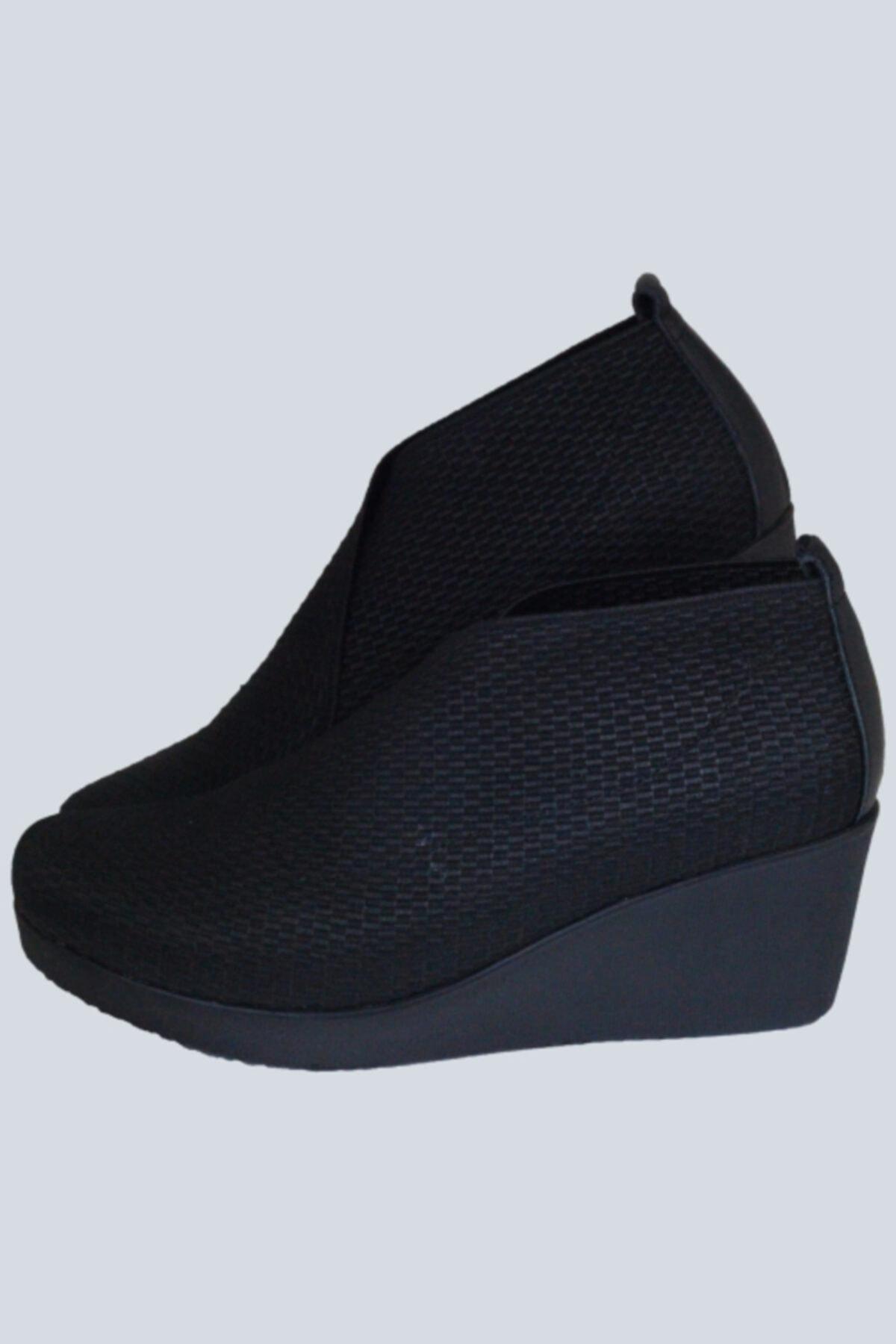 Elile Shoes Kadın Siyah Bot