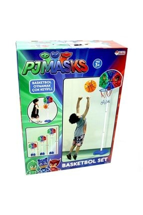 DEDE Pjmask Ayaklı Basketbol Seti 1