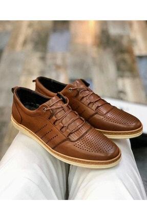 Daxtors Erkek Taba Günlük Ortopedik Ayakkabı 1
