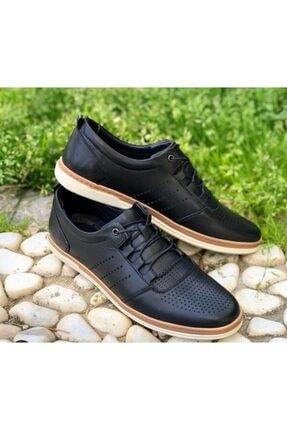 Daxtors D-025 Günlük Hakiki Deri Ortopedik Erkek Ayakkabı 1