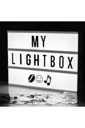 MUDOS Lightbox A4 - Işıklı Yazı Panosu 96 Harf 0