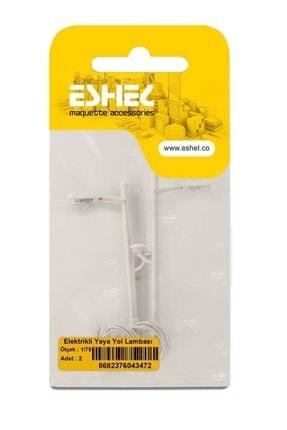 Eshel Maket Elektrikli Yaya Yol Lambası 1-75 Ölçek 2'li 1