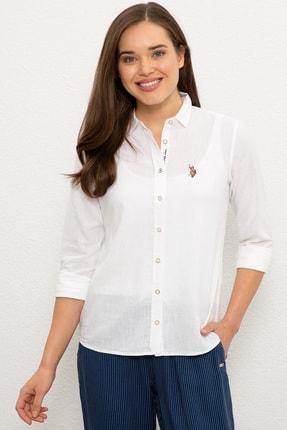 US Polo Assn Kadın Gömlek G082SZ004.000.982151 0